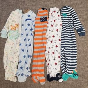 5 boy's PJ's 4 are Carter's 6 month